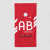 AB - Beach Towel - Airportag