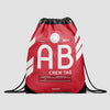 AB - Drawstring Bag - Airportag
