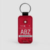 ABZ - Leather Keychain - Airportag