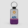 ADL - Leather Keychain - Airportag