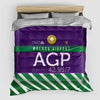 AGP - Duvet Cover - Airportag