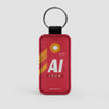 AI - Leather Keychain - Airportag