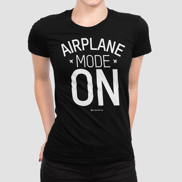 Airplane Mode - Women s Tee - airportag - 1 ace7ad5ad001d