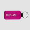 Airplane - Tag Keychain - Airportag