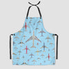 Airplane Above - Kitchen Apron - Airportag