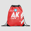AK - Drawstring Bag - Airportag