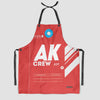 AK - Kitchen Apron - Airportag