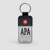 APA - Leather Keychain