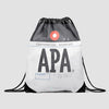 APA - Drawstring Bag
