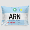 ARN - Pillow Sham - Airportag
