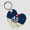 AS - Keychain - Airportag