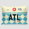 ATL - Pillow Sham - Airportag
