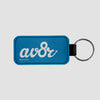 AV8R - Leather Keychain - Airportag