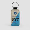 AYT - Leather Keychain
