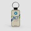 BCT - Leather Keychain - Airportag