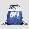 BFI - Drawstring Bag - Airportag