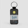 BHM - Leather Keychain
