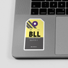 BLL - Sticker - Airportag