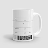 Boarding Pass - Mug - Airportag