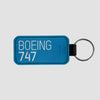Boeing - Leather Keychain