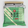 BOS - Duvet Cover - Airportag