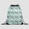 Brazilian Airports - Drawstring Bag - Airportag