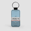 Brooklyn - Leather Keychain