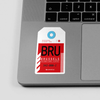 BRU - Sticker