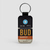 BUD - Leather Keychain - Airportag