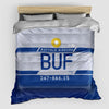 BUF - Duvet Cover - Airportag