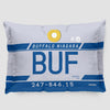 BUF - Pillow Sham - Airportag