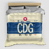 CDG - Duvet Cover - Airportag