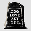 CDG - Love / Art - Laundry Bag - Airportag