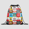 Chinese Airports - Drawstring Bag - Airportag