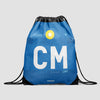 CM - Drawstring Bag - Airportag