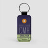CMH - Leather Keychain - Airportag