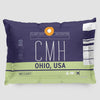 CMH - Pillow Sham - Airportag