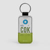 COK - Leather Keychain - Airportag