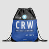 CRW - Drawstring Bag - Airportag