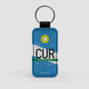 CUR - Leather Keychain