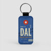 DAL - Leather Keychain - Airportag