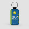 DAR - Leather Keychain