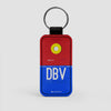 DBV - Leather Keychain
