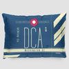 DCA - Pillow Sham - Airportag