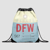 DFW - Drawstring Bag