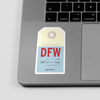 DFW - Sticker