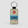 DME - Leather Keychain