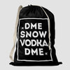 DME - Snow / Vodka - Laundry Bag - Airportag