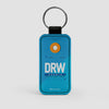 DRW - Leather Keychain - Airportag