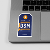 DSM- Sticker - Airportag